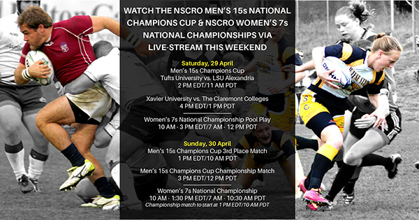 Watch NSCRO Mens' Champions Cup & Women's 7s National ...