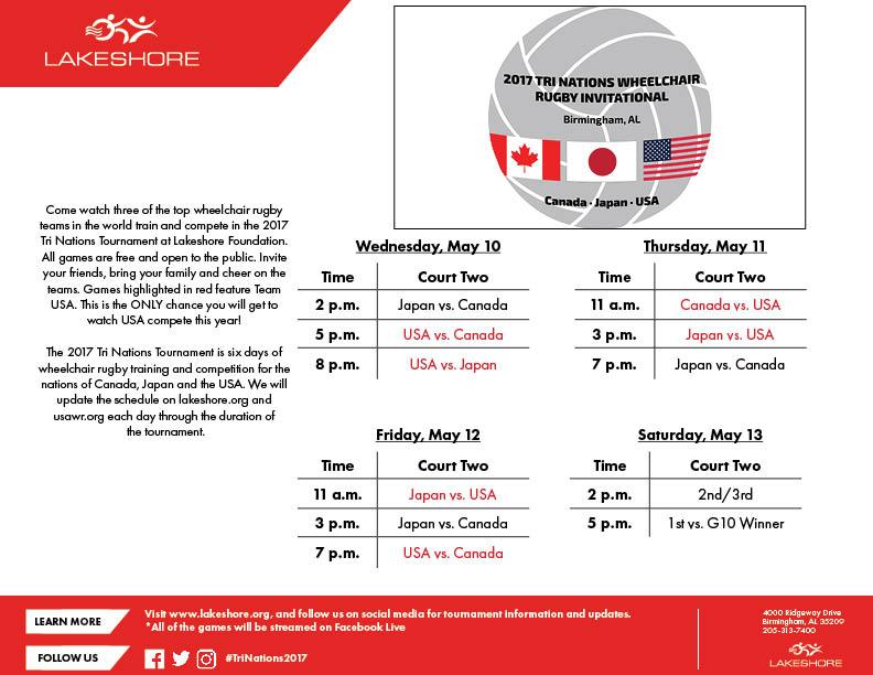 2017 Tri Nations Invitational
